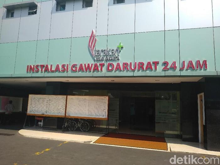 Suasana di RSUD Tarakan, Jakarta, Kamis (23/5). (Foto: Nur Azizah/detikcom)