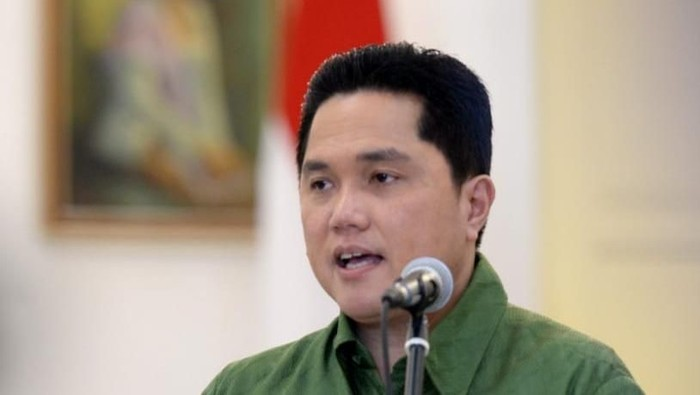 Ketua TKN Jokowi-Maruf Amin Erick Thohir.