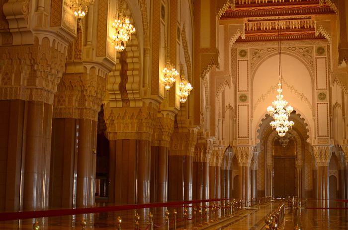Terpesona Keindahan Dan Megahnya Masjid Hassan Ii Di Maroko Foto 5