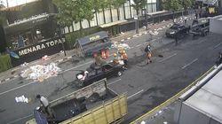 Gedung Bawaslu Masih Dijaga, Bundaran HI-Jl Merdeka Barat Ditutup