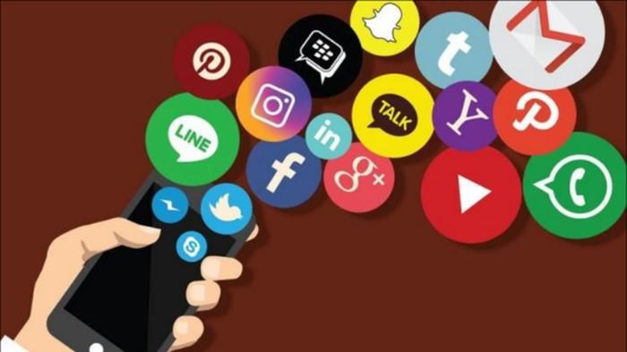 Logo sejumlah media sosial. Foto: detik