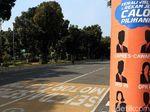 Jalan Merdeka Barat Ditutup Jelang Gugatan BPN ke MK