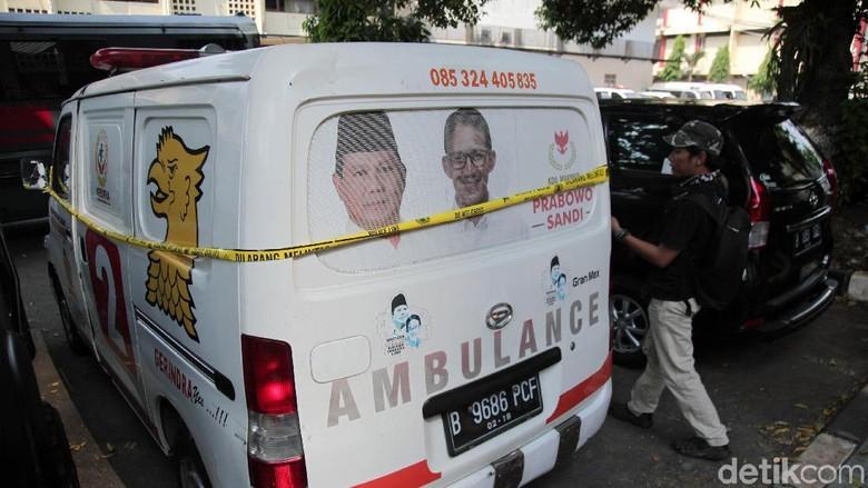 Tak Ada Alat Medis dan Obat di Ambulans Gerindra Pembawa Batu