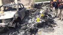 3 Mobil dan 11 Motor Ikut Terbakar Saat Polsek Tambelangan Dibakar Massa