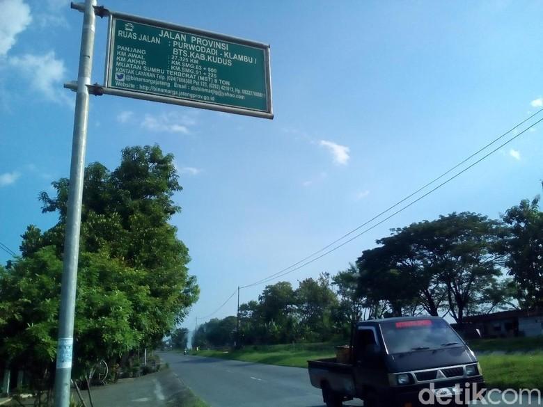 12 Jalan Provinsi di Grobogan Siap Dilalui Arus Mudik dan Balik