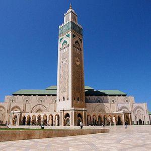 Terpesona Keindahan dan Megahnya Masjid Hassan II di Maroko
