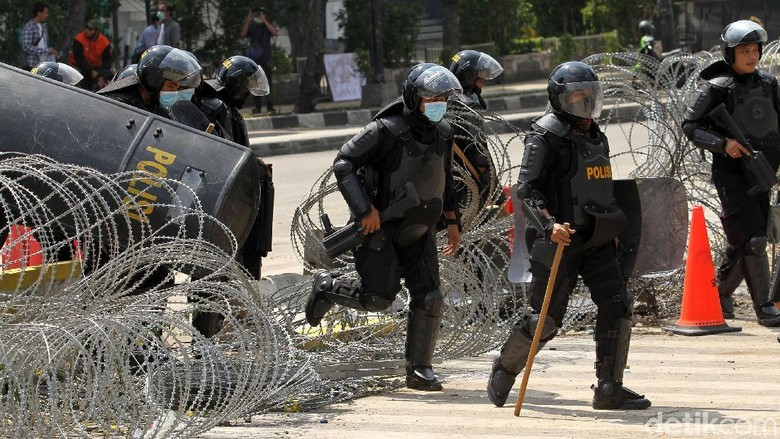 58 Ribu Personel Polri-TNI Masih Siaga di Ibu Kota