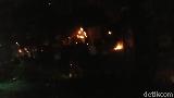Polisi Tembakkan Gas Air Mata, Massa di Jalan Wahid Hasyim Kocar-kacir