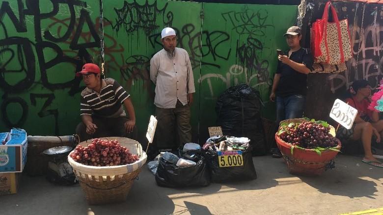 Geliat PKL di Tanah Abang Usai Aksi 22 Mei