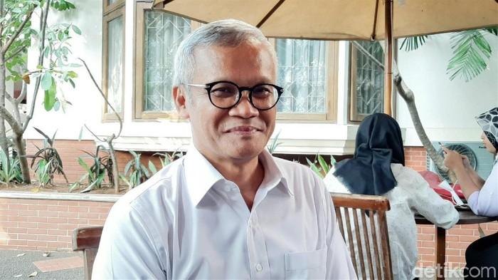 Direktur Program TKN Jokowi-Maruf Amin, Aria Bima (Lisye Sri Rahayu/detikcom)