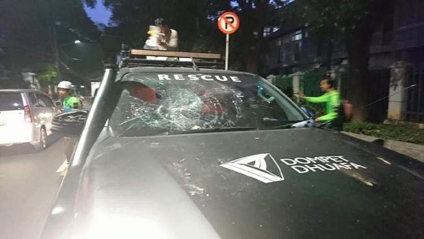 Dompet Dhuafa: Ada Staf Kami Dipukul Polisi di Aksi 22 Mei 2019