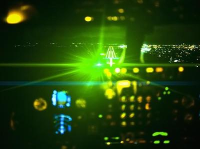 Mata Pilot Kena Sinar Laser, Pesawat Ini Tetap Mendarat Selamat