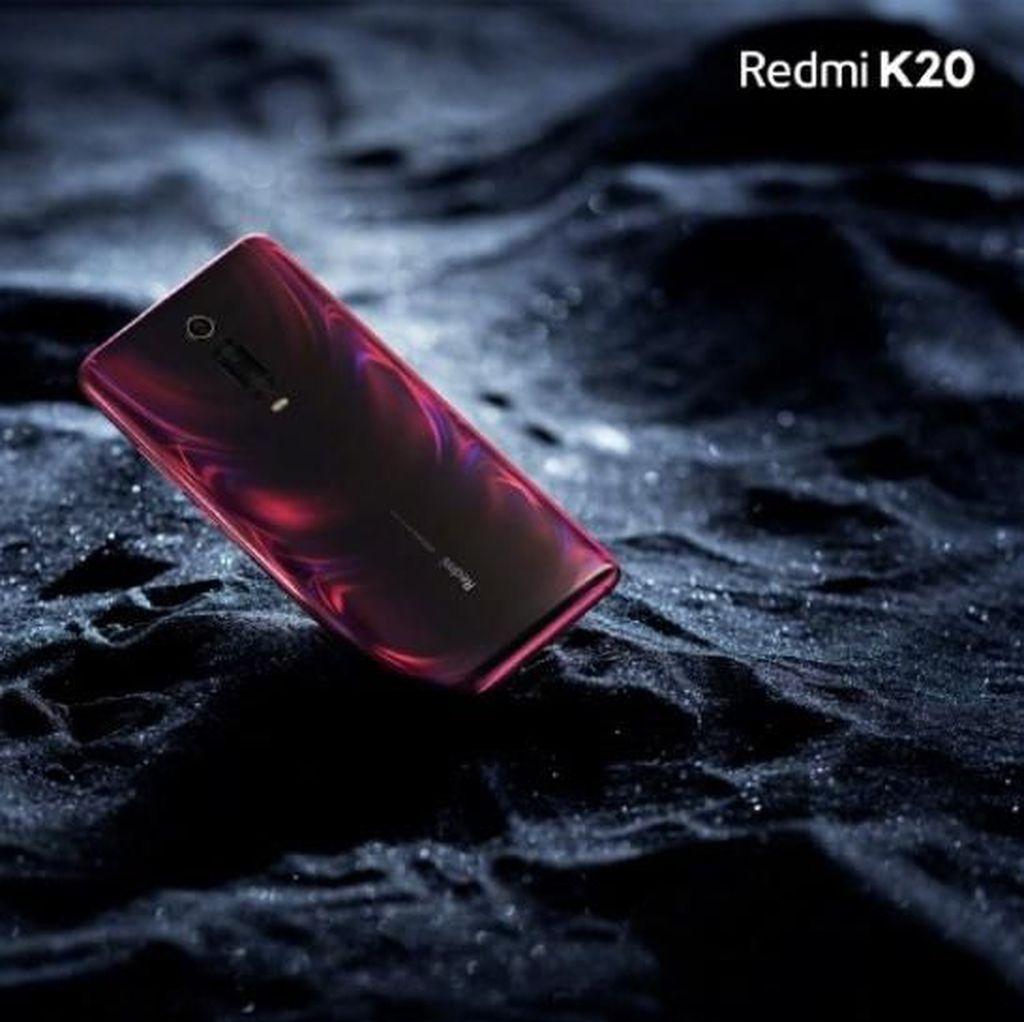 Muncul Penampakan Redmi K20 dengan Kamera Pop-up