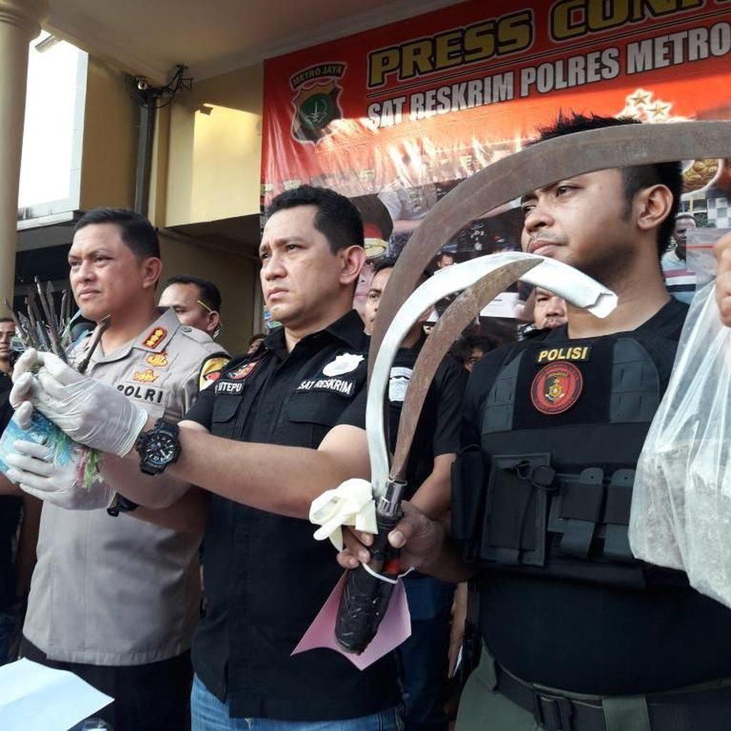 Perusuh 22 Mei di Flyover Slipi Siapkan Alat Tempur di Gang-gang