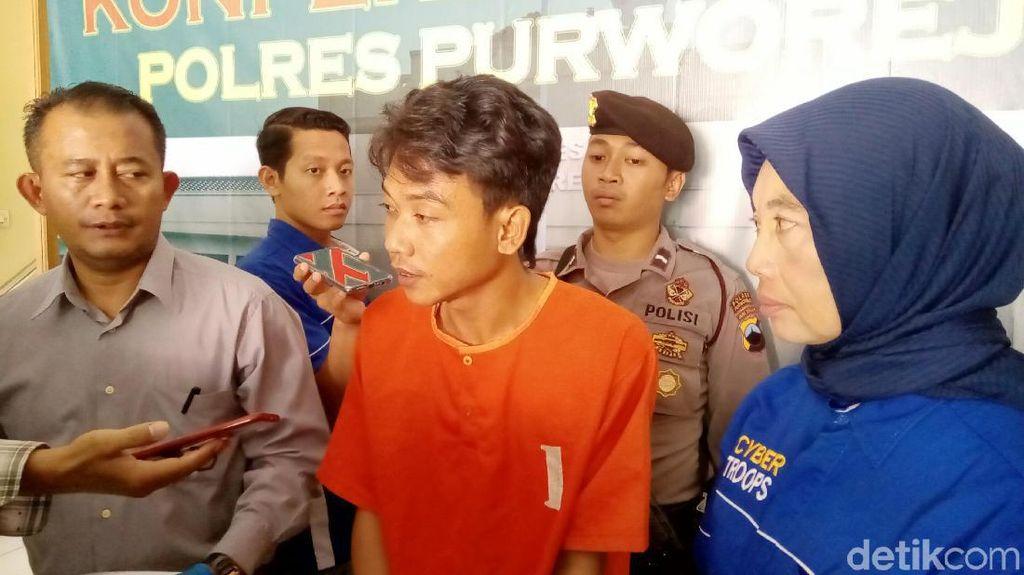 Setubuhi Gadis di Bawah Umur, Sopir Angkot di Purworejo Dibekuk