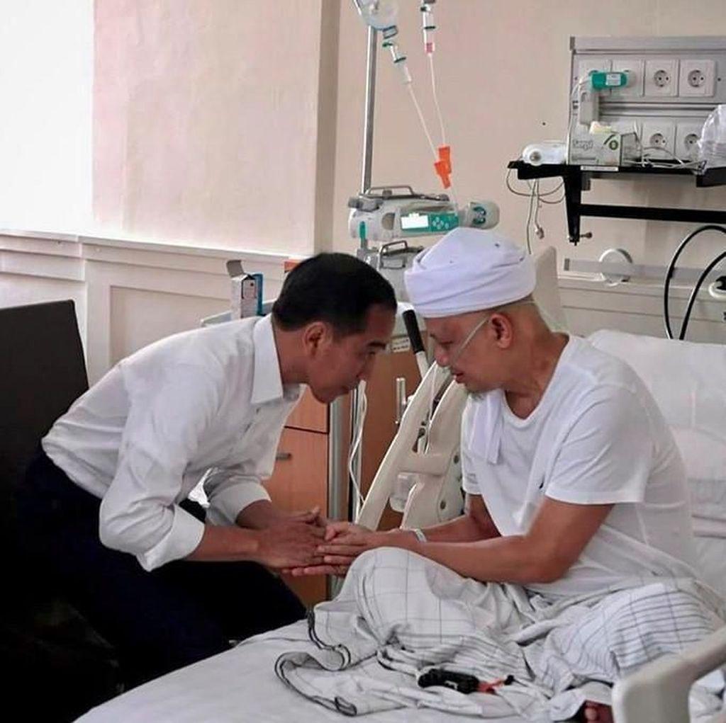 Jokowi Turut Ucapkan Bela Sungkawa untuk Arifin Ilham