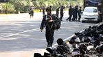 Brimob Perketat Keamanan di Gedung MK