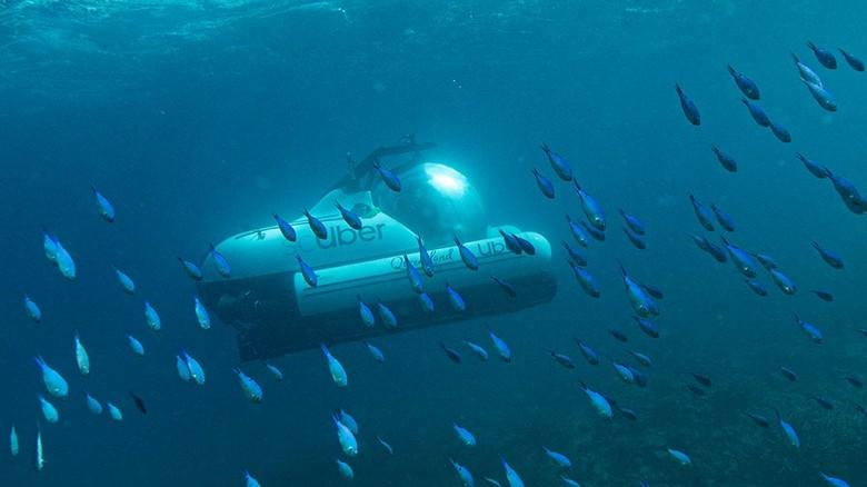 Taksi bawah air dari Uber (dok ScUber Queensland)