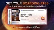 81 Ribu Orang Indonesia Pesan Tiket ke Mars