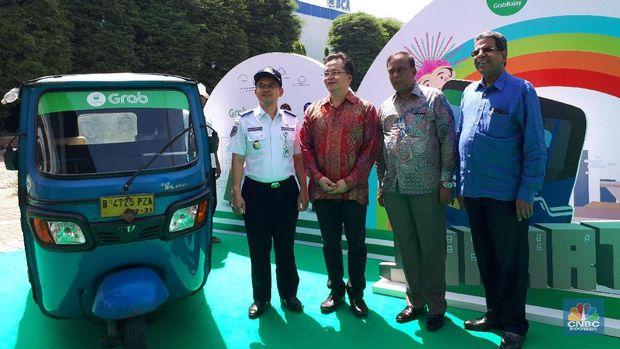 GrabBajay Resmi Diluncurkan, Tarifnya Rp 3.000/km