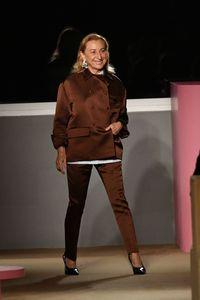 Miuccia Prada, desainer dan kepala grup Prada.
