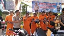 Komplotan Jambret Spesialis Turis Asing di Bali Ditangkap