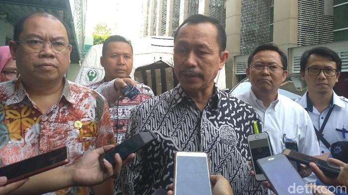 Ketua Komnas HAM Ahmad Taufan Damanik (Azizah/detikcom)