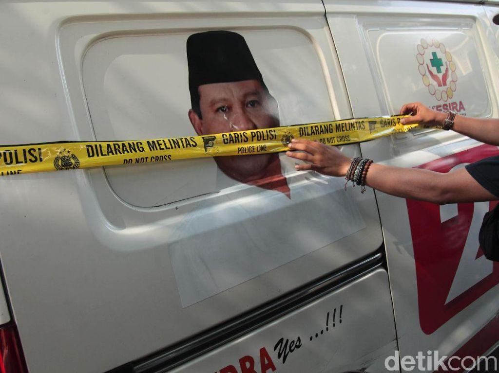 Ada Instruksi Ambulans Pembawa Batu di Aksi 22 Mei ke Jakarta