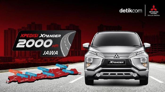 Xpedisi Xpander 2.000 Km Jawa