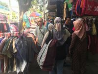 PKL di Tanah Abang Sudah Mulai Berjualan Usai Aksi 22 Mei