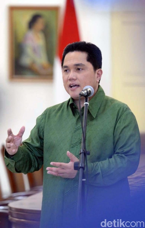 Erick Thohir: Pertemuan JK-Prabowo Adalah Hal yang Sehat