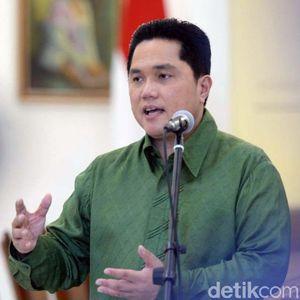 Jelang Sidang Putusan MK, Saham Perusahaan Erick Thohir Lompat 17%
