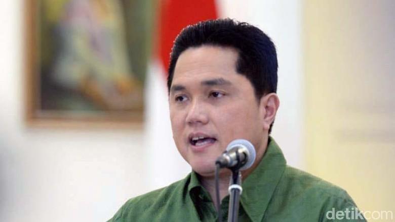 Erick Thohir Bicara Kemungkinan Ada Menteri Muda di Kabinet Jokowi