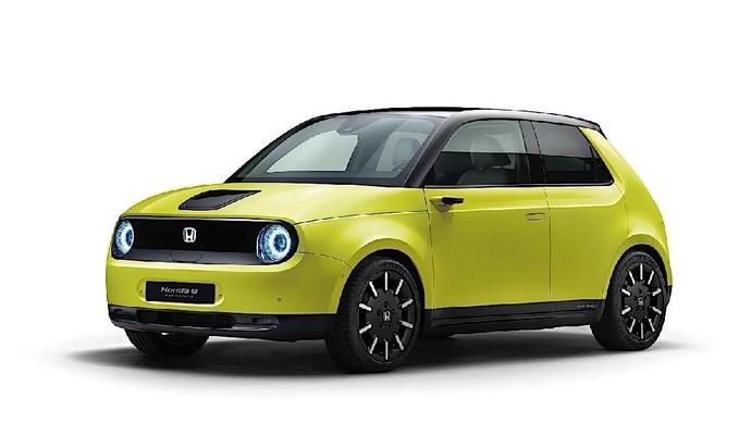 Honda e Listrik yang Penuh Warna