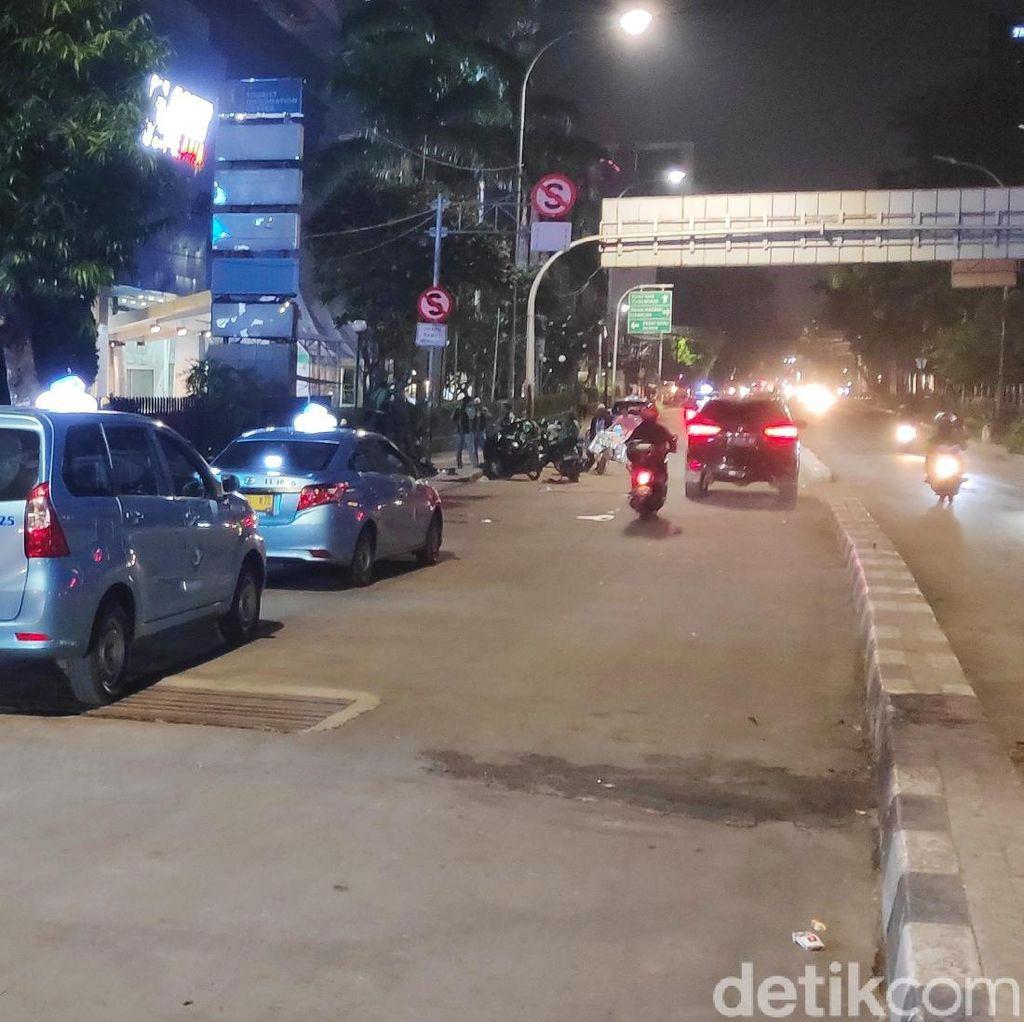Situasi Mulai Kondusif, Jalan Wahid Hasyim Sudah Bisa Dilalui Kendaraan