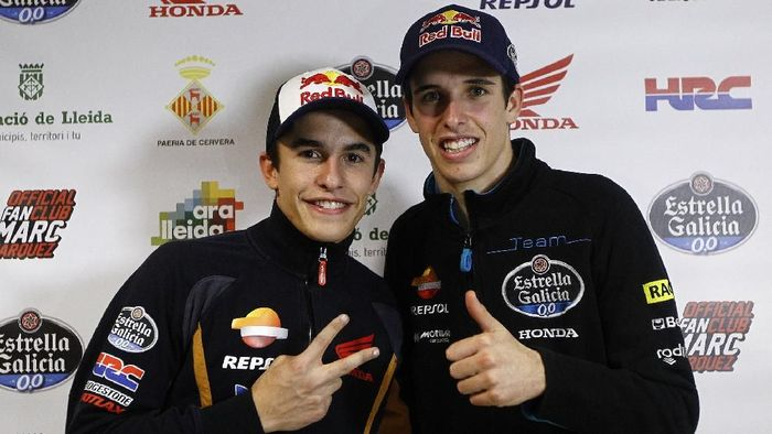 Alex Marquez dan Marc Marquez akan bersaing di MotoGP musim depan? (AFP PHOTO / QUIQUE GARCIA)