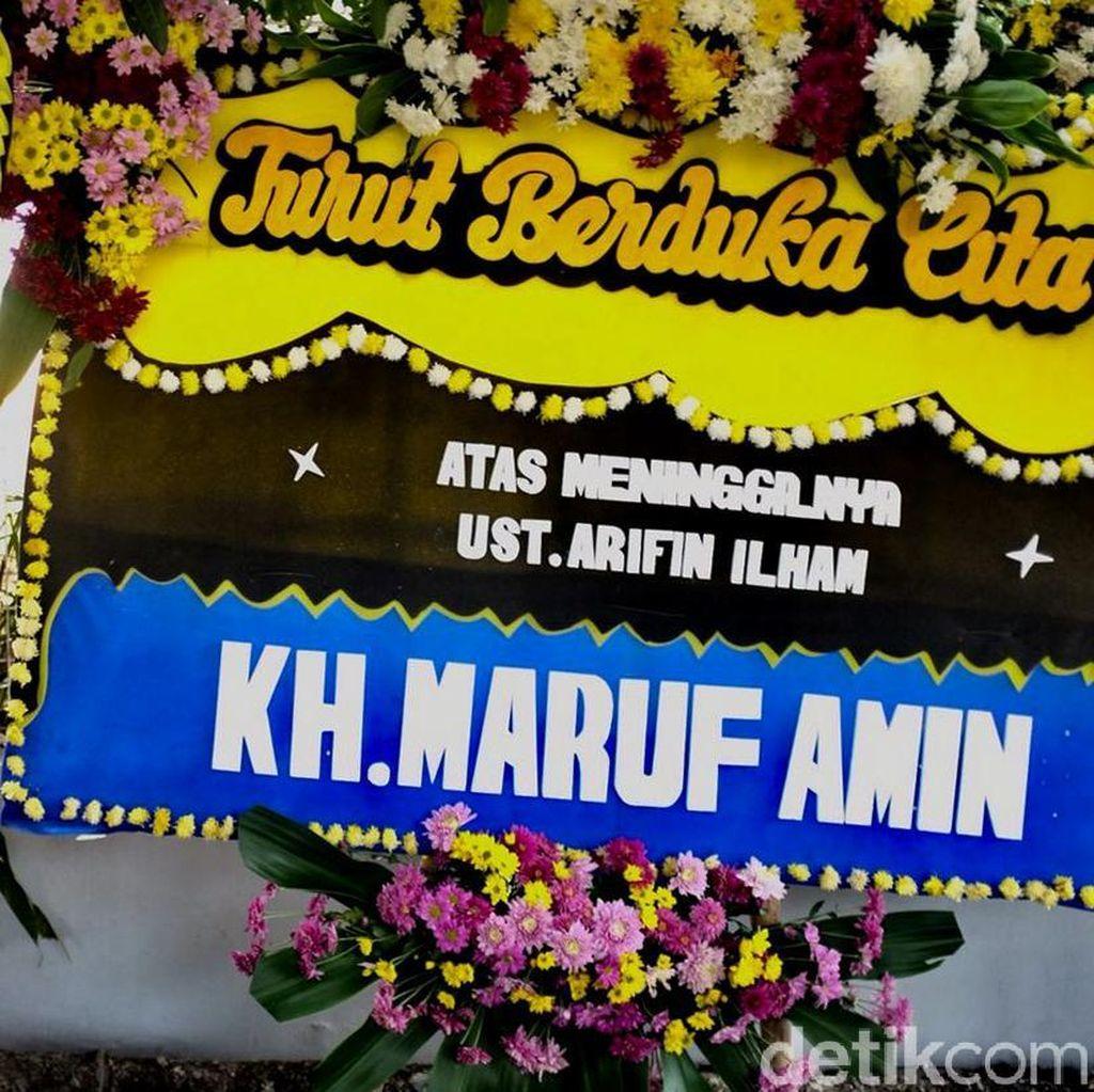 Maruf Amin Hingga AHY Kirim Karangan Bunga ke Az-Zikra