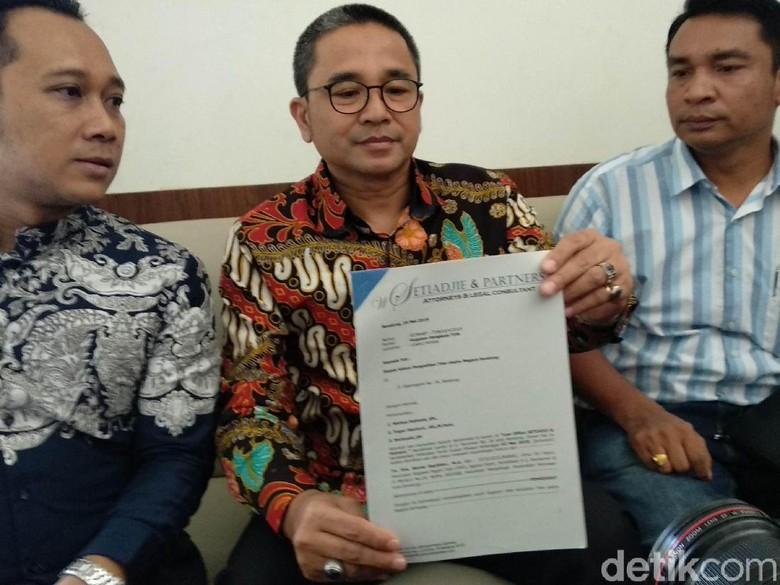 Benny Bachtiar Resmi Gugat Walkot Bandung Soal Pelantikan Sekda