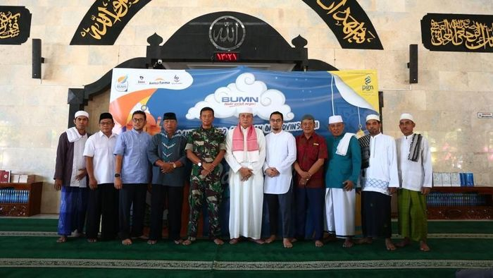 Rangkaian kegiatan antara lain pembagian 1.000 Al Quran yang acara seremonialnya secara resmi disalurkan oleh perwakilan PGN, Kimia Farma, Hotel Indonesia Natour dan Balai Pustaka bertempat di Mesjid Agung Sudirman, Denpasar, Bali. dok PGN