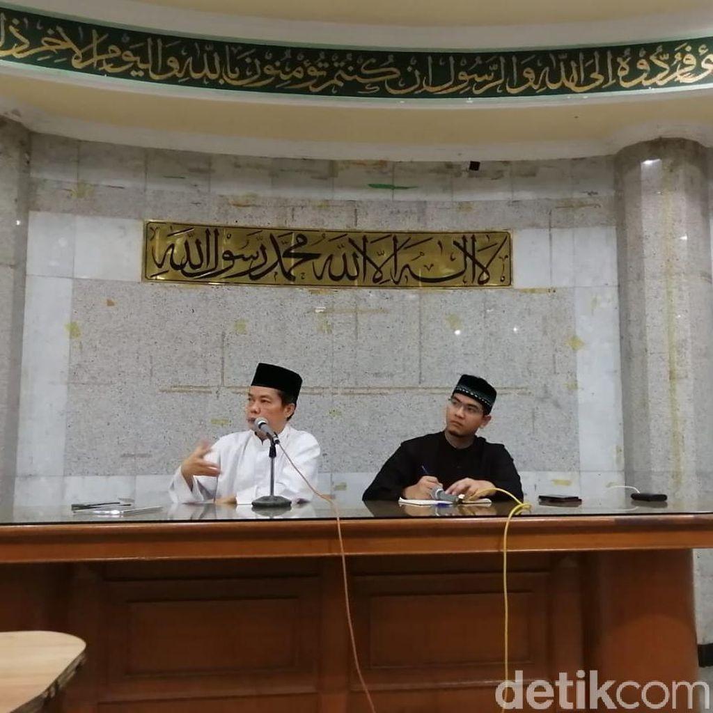 Pengurus Masjid Sunda Kelapa Nyatakan Tak Terkait Rusuh 21-22 Mei