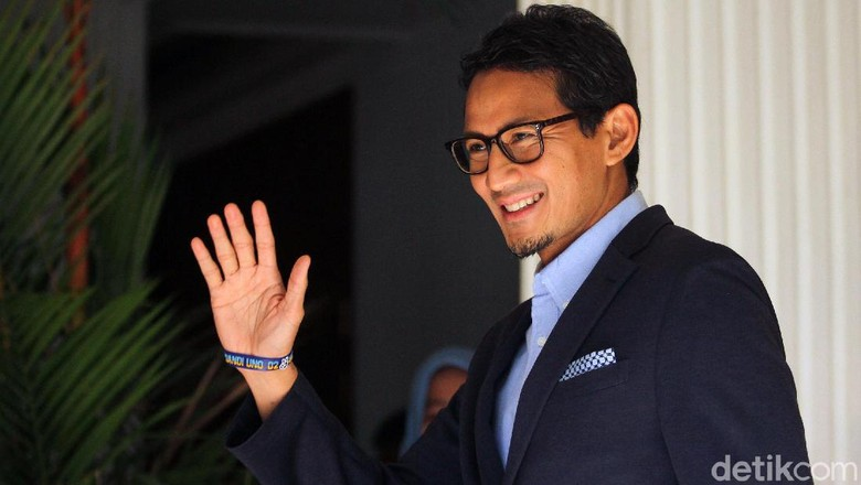 Hipmi Undang Bukber Bareng Jokowi, Sandi: Ada Jadwal Buka Puasa Lain