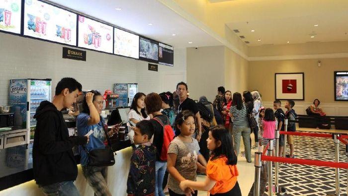 Cinemaxx di District 1 memiliki 4 studio yang mampu menampung penonton hingga 400 orang setiap hari. Foto: Dok. Meikarta.
