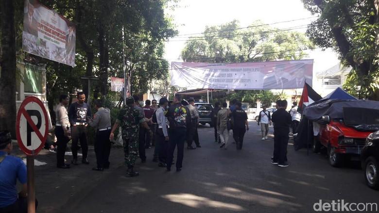 Kapolres Jaksel Sambangi Kertanegara, Monitoring Situasi