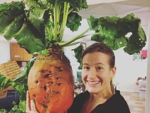 Deretan Sayuran Berukuran Jumbo yang Bikin Kamu Takjub