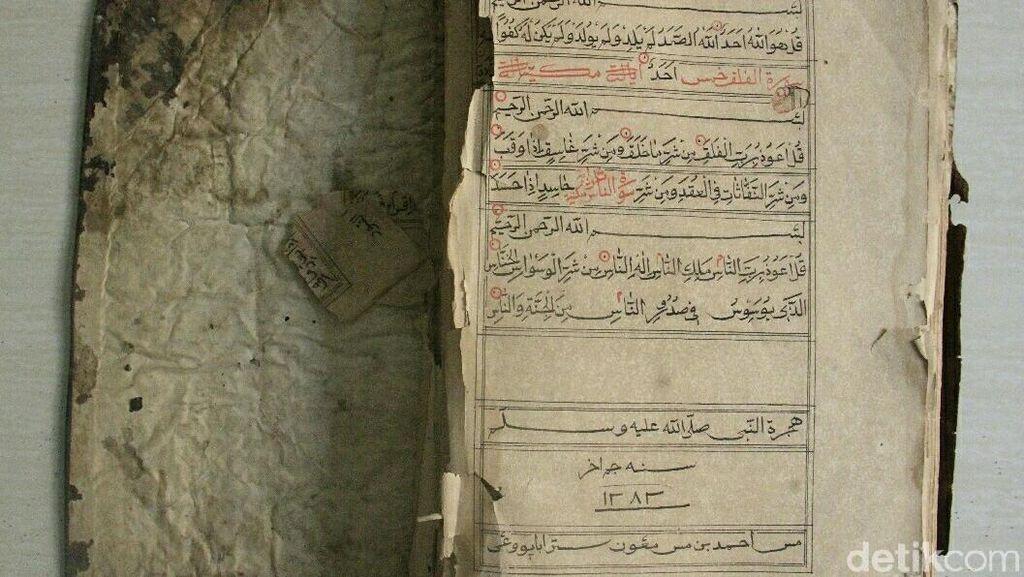 Menengok Al Quran Kuno Koleksi Masyarakat Banyuwangi