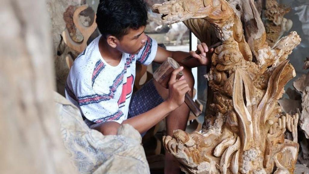 Menengok Desa Penghasil Kerajinan Ukiran Kayu Jepara