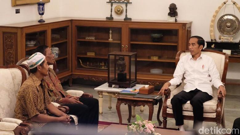 Bertemu Jokowi, Pedagang Korban Kerusuhan Sapa Siap Presiden