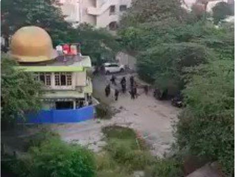 Screen capture dari video yang viral