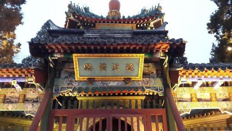 Masjid Niu Jie merupakan yang tertua dan terbesar di Beijing. Masjid ini dibangun pada tahun 996, pada masa Dinasti Liao. (Neni Setiyowati/dtraveler)