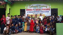Jelang Lebaran, Bulog Santuni Anak Yatim dan Pesantren di Serang